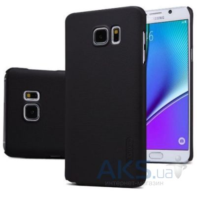 Чехол Nillkin Super Frosted Shield Samsung N920 Note 5 Black