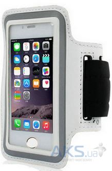 "Чехол Belkin Universal Sports Armband for iPhone 6/6S Silver (4.5""-5"")"