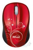 Компьютерная мышка Trust Vivy Wireless Mini Mouse - Red Swir (17355) Red