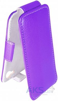 Чехол Sirius flip case Alcatel One Touch 7047d Pop C9 Violet