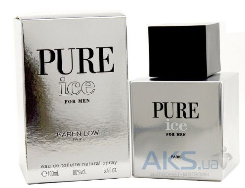 Geparlys Karen Low Pure ice for Men Туалетная вода 100 мл