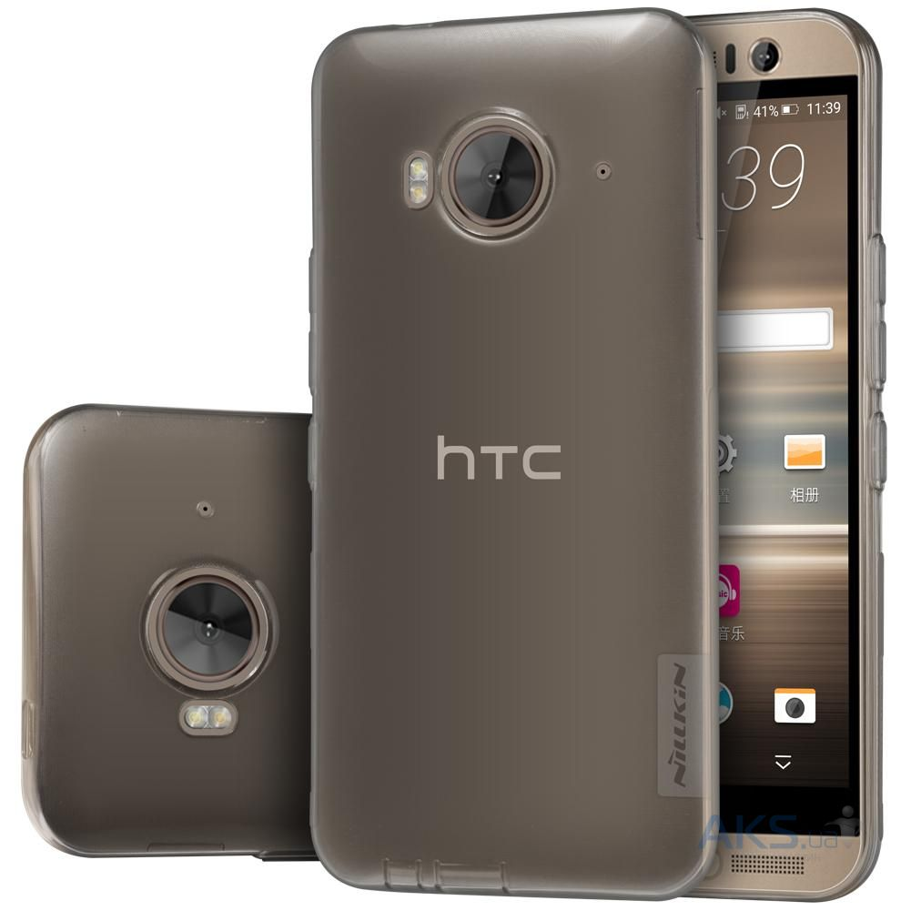 Чехол Nillkin Nature Series HTC One M9e Transparent Gray