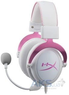 Наушники (гарнитура) Kingston HyperX Cloud II Gaming Headset White/Pink
