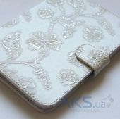 Обложка (чехол) Saxon Case для PocketBook Basic 611/613 Rose White
