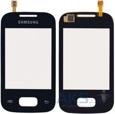 Сенсор (тачскрин) для Samsung Galaxy Pocket S5300, Galaxy Pocket Duos S5302 Black