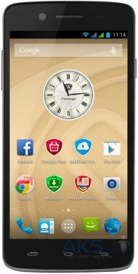 Сенсор (тачскрин) для Prestigio MultiPhone 5507 Duo Original Black