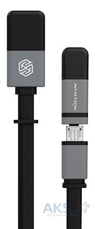 Кабель USB Nillkin Plus Cable II Black