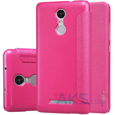 Чехол Nillkin Sparkle Leather Series Xiaomi Redmi Note 3, Redmi Note 3 Pro Pink