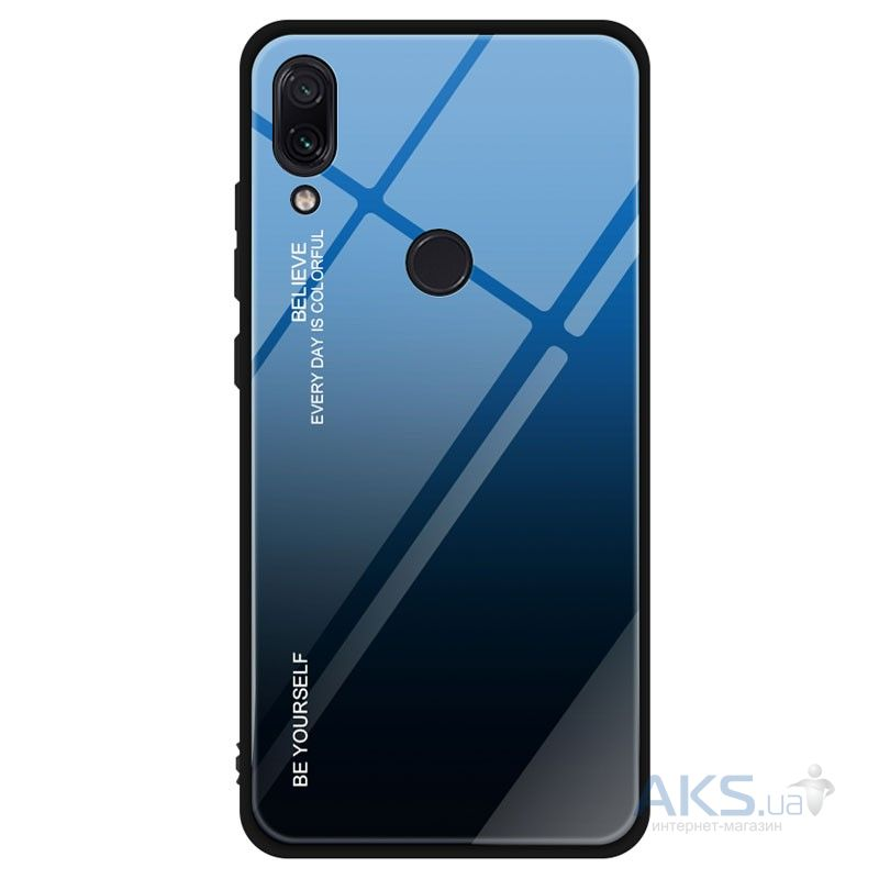 Чехол 1TOUCH Be Yourself Xiaomi Redmi Note 7 Blue