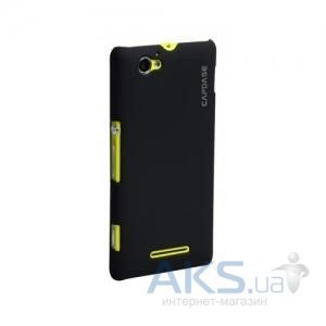 Чехол Capdase Karapace Jacket Touch Black Sony Xperia M C1905 (KPSYC1905-T101)