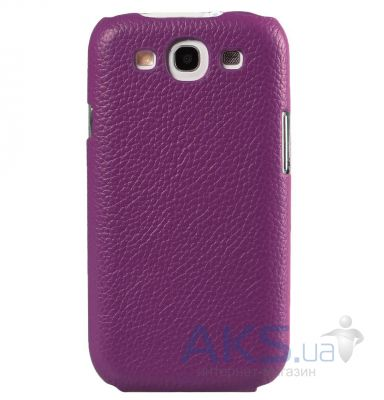 Чехол Melkco Snap leather cover for Samsung i8160 Galaxy Ace II Purple (SSAC81LOLT1PELC)