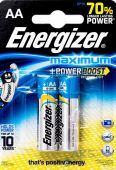 Батарейки Energizer AA (LR6) Maximum 2шт