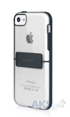 Чехол Macally Hardshell case with stand Apple iPhone 5C Black (KSTANDP6-B)