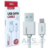 Вид 2 - Кабель USB Remax Classic Quick Charging Lightning IP5 Cable White