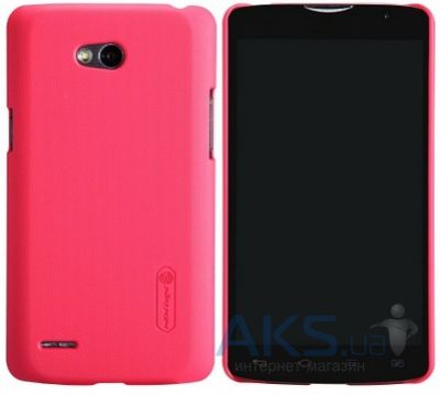 Чехол Nillkin Super Frosted Shield LG L80/D380 Red