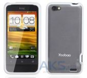 Чехол Yoobao 2 in 1 Protect case for HTC One V T320e White (PCHTCONEV-WT)