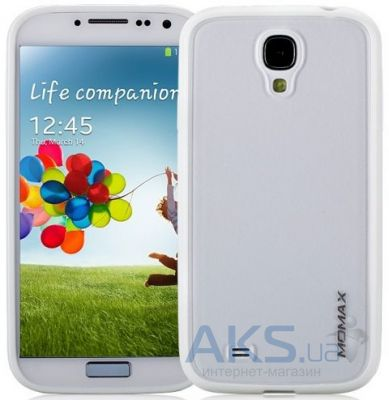 Чехол Momax iCase Pro cover for Samsung i9500 Galaxy S4 White (CPSAS4W1W)