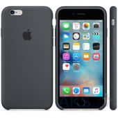 Вид 3 - Чехол Apple Silicone Case for iPhone 6S Charcoal Gray (MKY02)