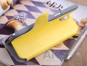 Вид 3 - Чехол Yoobao Fashion leather case for Samsung i9200 Galaxy Mega 6,3 Yellow (LCSAMI9200-FYL)