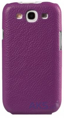 Чехол Melkco Snap leather cover for Samsung S7562 Galaxy S DuoS Purple (SS7562LOLT1PELC)