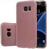 Вид 2 - Чехол Nillkin Super Frosted Shield Samsung G930 Galaxy S7 Rose Gold