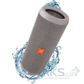 Колонки акустические JBL Flip 3 Splashproof Portable Grey (JBLFLIP3GRAY)