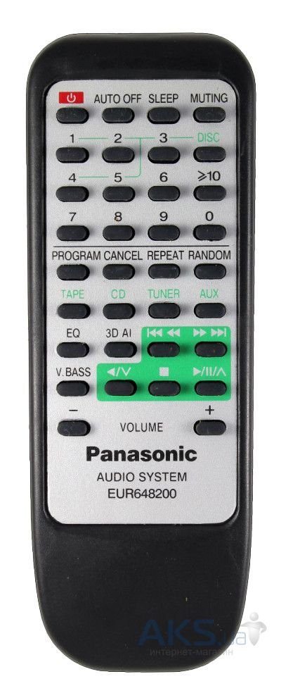 Пульт Panasonic EUR648200 [AUDIO]