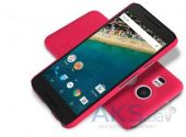 Вид 2 - Чехол Nillkin Super Frosted Shield LG Google Nexus 5X H791 Red