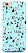 Чехол Mooke Meng Chong Series Case Apple iPhone 6, iPhone 6s 306 Light Blue