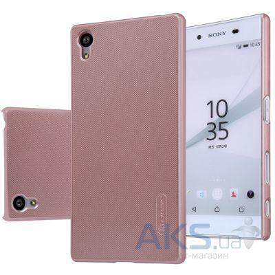 Чехол Nillkin Super Frosted Shield Sony Xperia Z5 E6683 Rose Gold