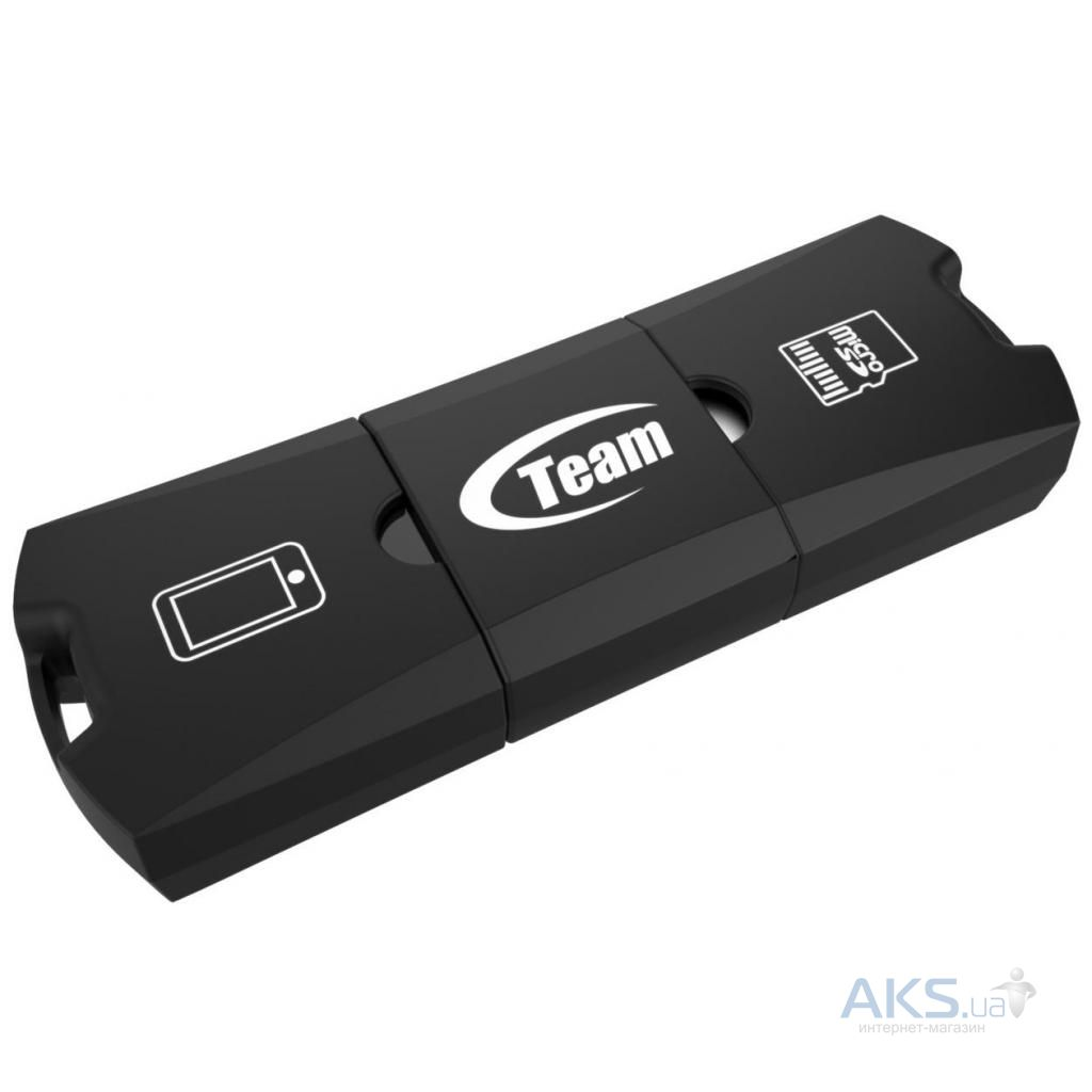 Флешка Team 128GB M141 Black USB 2.0 OTG (TUSDX128GUHS36)