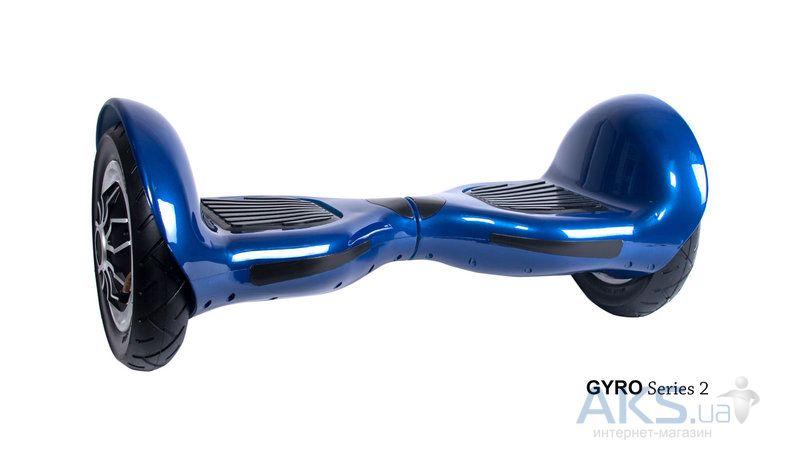 гироскутер синий в камуфляже