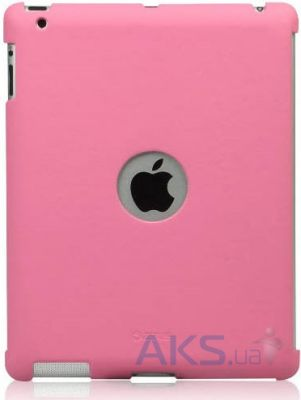Чехол для планшета Zenus Synthetic Leather Smart Match Back Cover for Apple iPad 4 Pink