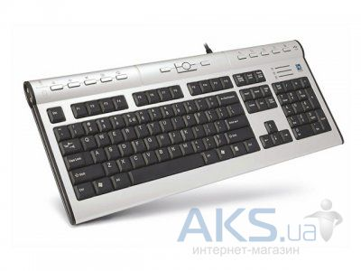 Клавиатура A4Tech KL-7 MU-R PS/2 Black/Silver