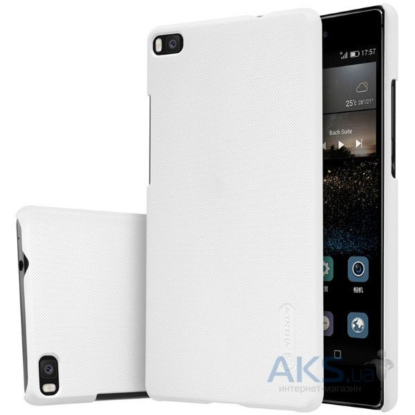 Чехол Nillkin Super Frosted Shield Huawei Ascend P8 Lite White