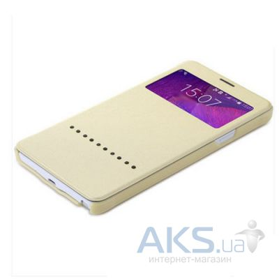 Чехол Rock Rapid Series Samsung N910 Galaxy Note 4 Gold