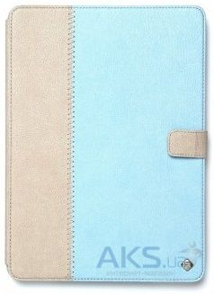 Чехол для планшета Zenus iPad Air Leather Case Masstige Leather E-Note Diary Series Sky Blue