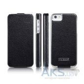 Чехол iCarer Electroplating for iPhone 5/5S Black