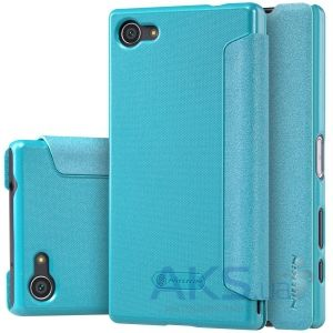Чехол Nillkin Sparkle Leather Series Sony Xperia Z5 Compact E5823 Turquoise