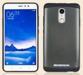 Вид 3 - Чехол SGP Slim Armor Series Xiaomi Redmi Note 3, Redmi Note 3 Pro Black