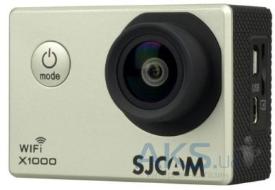 Экшн-камера SJCAM X1000 WiFi Limited Edition Silver