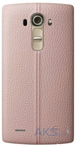 Чехол LG Leather Series G4 H818 Pink (CPR-110)
