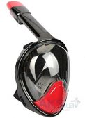 Маска JUST Breath Pro Diving Mask L/XL Red/Black (JBRP-LXL-RB)