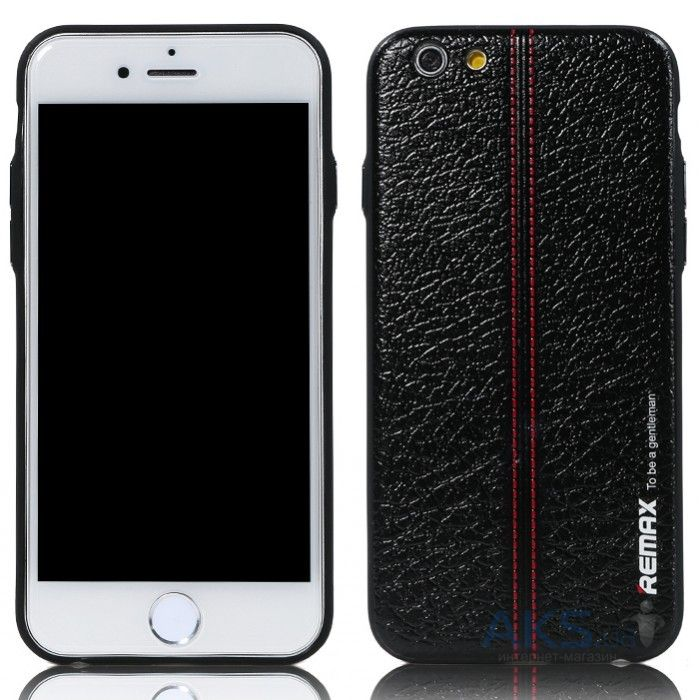 Чехол REMAX Gentleman Series Apple iPhone 6 Red Stripe