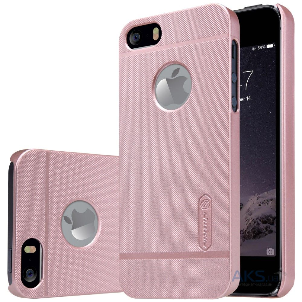 Чехол Nillkin Super Frosted Shield Apple iPhone 5, iPhone 5S, iPhone SE Rose Gold