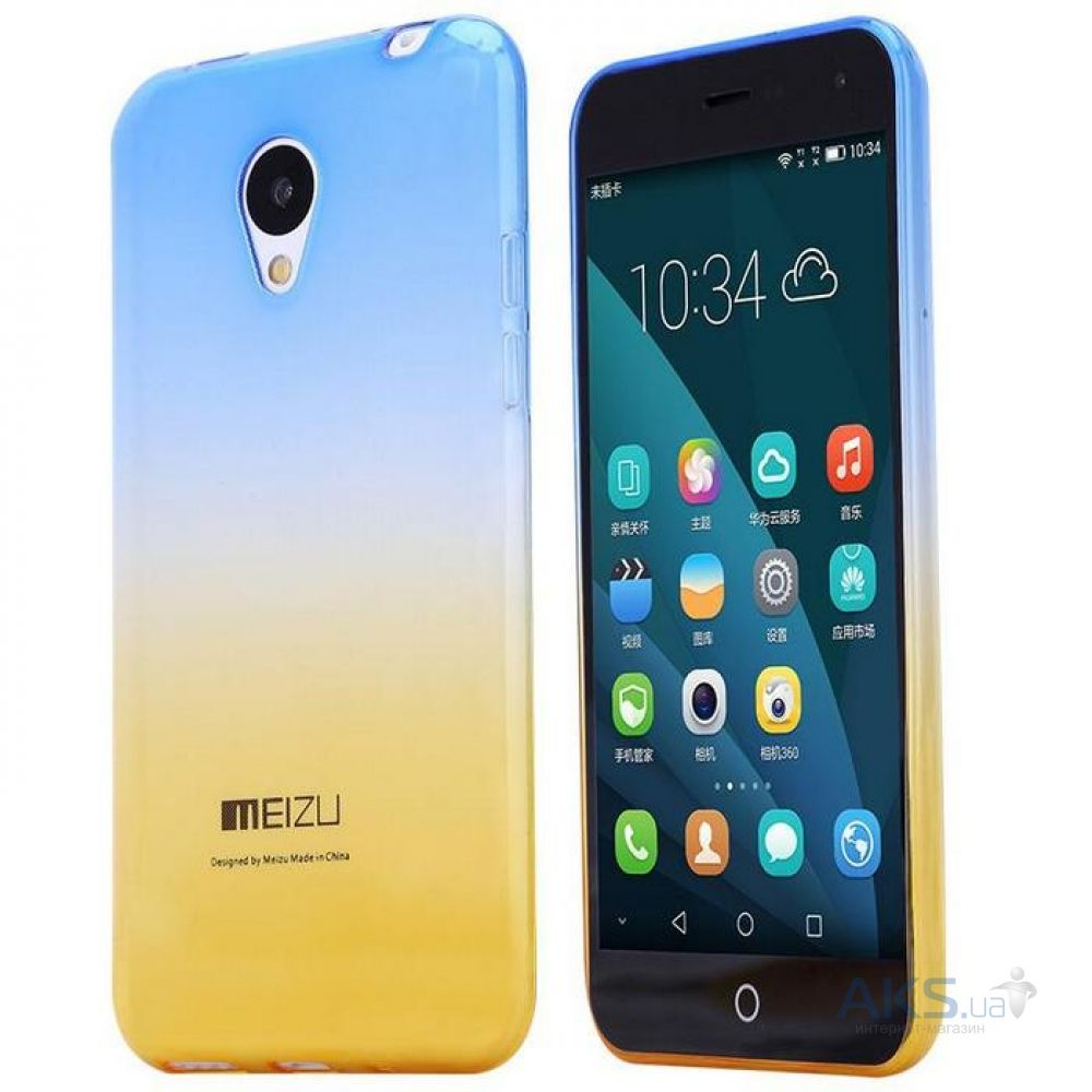 Чехол Rebus Gradient Series Meizu M2, M2 Mini Blue