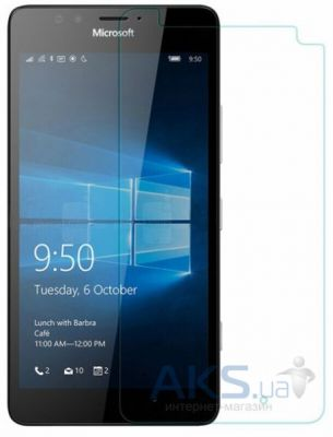 Защитное стекло Tempered Glass Microsoft Lumia 950