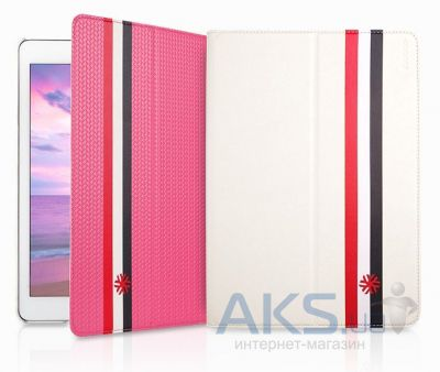 Чехол для планшета Yoobao Magic case for iPad Air White+Pink [LCIPADAIR-MGWP]
