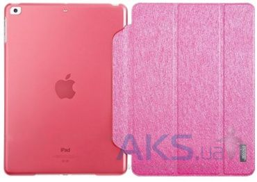 Чехол для планшета Mooke Mock Wooden Case Apple iPad mini Retina Pink
