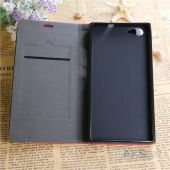 Вид 5 - Чехол Original Book Stripe Series Doogee Y300, Y300 Pro Black - Brown